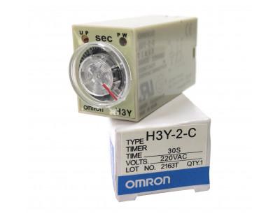 Реле времени, таймер OMRON H3Y-2 220V