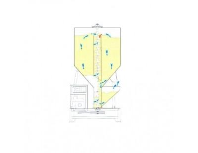 Вертикальный смеситель ZHL-500