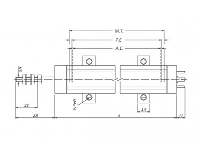 Датчик линейного положения BWL150