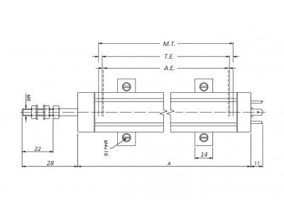 Датчик линейного положения BWL350
