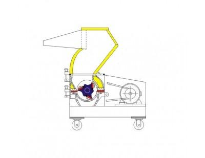 Измельчитель пластмасс XFS-400