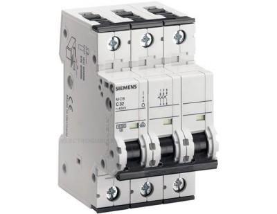 Автоматический выключатель Siemens 5SJ63-MCB-C32