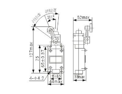 Концевой выключатель LX19A-121